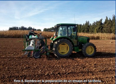 Tractor siembra
