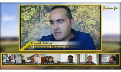 Vídeo íntegro de la reunión de trabajo virtual sobre la soja del valle del Ebro